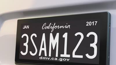 Sacramento estrena las primeras matrículas digitales para vehículos. Conoce cómo funcionan y para qué sirven