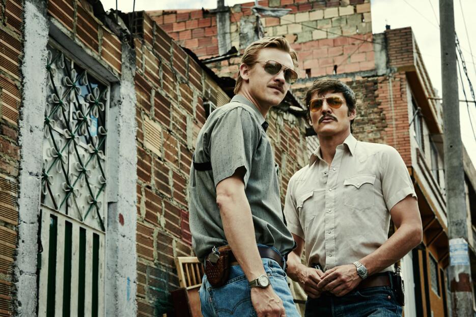 Murphy y Peña en Narcos