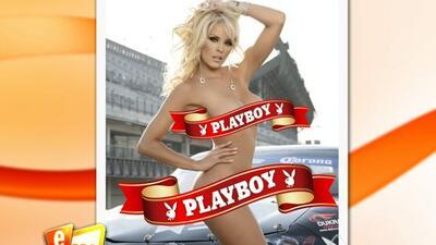 """Roxana Martínez, la """"Tetanic"""", posó para Playboy."""