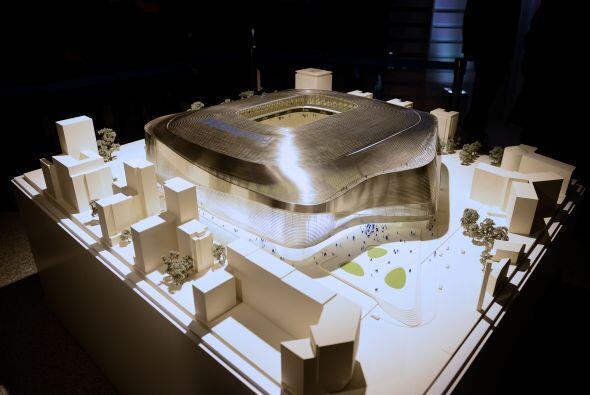 El Real Madrid ha presentado el proyecto de remodelación del Estadio San...