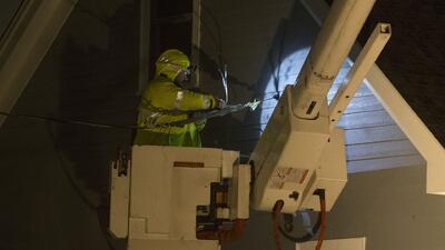 Tormenta invernal deja más de 400,000 clientes sin el servicio de energía eléctrica en el área triestatal