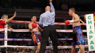 Hernán 'Tyson' Márquez no pudo con McJoe Arroyo (Foto: Zanfer).