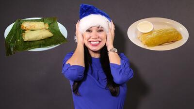 Carla Medrano le apuesta a los tamales hondureños por encima de todos