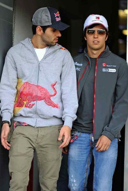 Sergio Pérez llegó con mucha confianza al Gran Premio de China, acompaña...