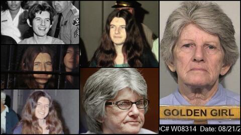 Patricia Krenwinkel, seguridora del asesino serial Charles Manson.