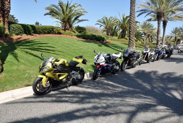 BMW presentó sus motos en el Amelia Island 2011