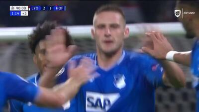 ¡GOOOL! Pavel Kaderábek anota para TSG 1899 Hoffenheim