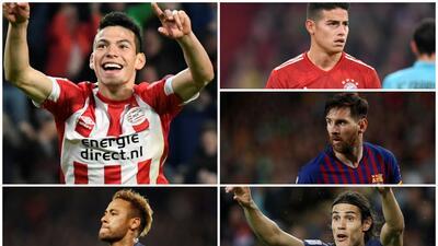 'Chucky' Lozano y los latinos en la selección de los 50 mejores jugadores del mundo
