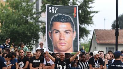 Cristiano enloqueció Turín y pasó su reconocimiento médico con la Juventus