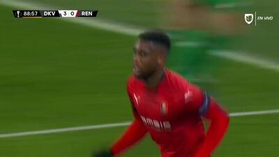 ¡GOOOL! Jordan Siebatcheu anota para Rennes