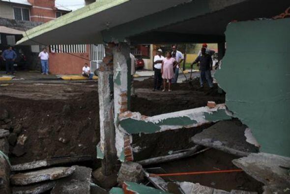 El Servicio Meteorológico Nacional mexicano advirtió que provocaría lluv...