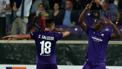 Fiorentina con Carlos Salcedo vence 1-0 a Bologna