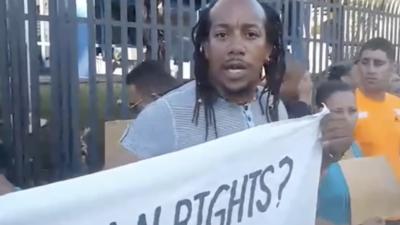 """""""Nuestros DDHH están por debajo de los perros"""": Se agrava situación de migrantes cubanos varados en Trinidad y Tobago"""