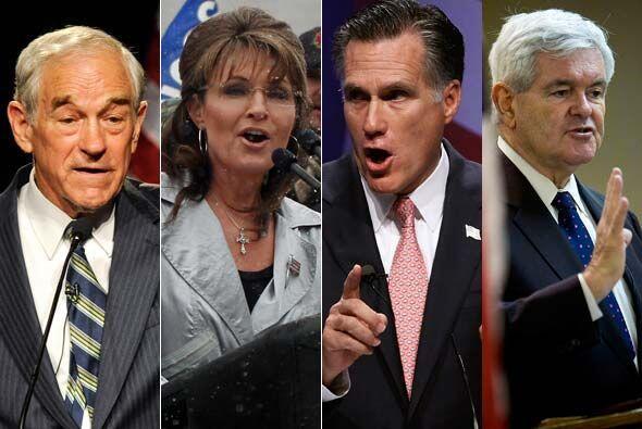 Razón #10: Ron Paul, Sarah Palin, Mitt Romney, Newt Gingrich... La lista...