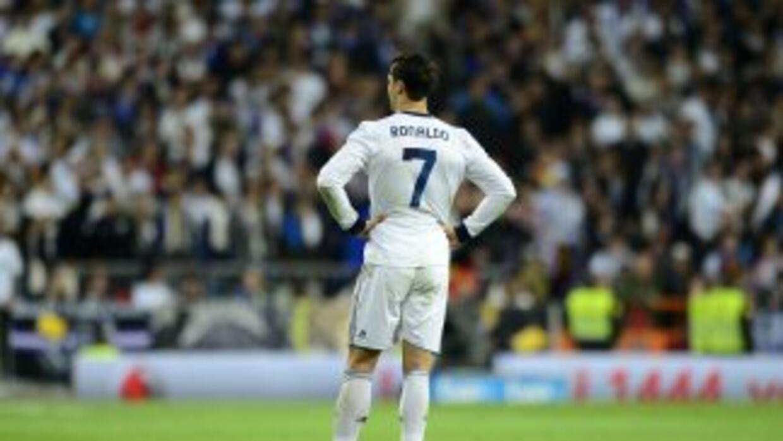 Cristiano Ronaldo no estuvo a su mejor nivel, perdió el control y se fu...