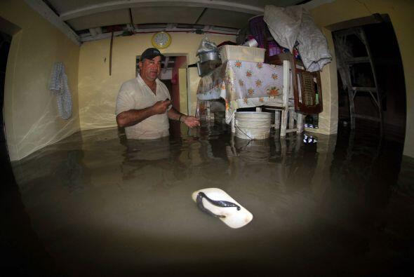 Las zonas más afectadas fueron Cardel, San Pancho, Chachalacas y el prop...