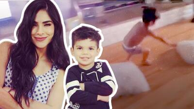 Corre, brinca y gatea: el hijo de Alejandra Espinoza demuestra por qué debería estar en Reto 4 Elementos