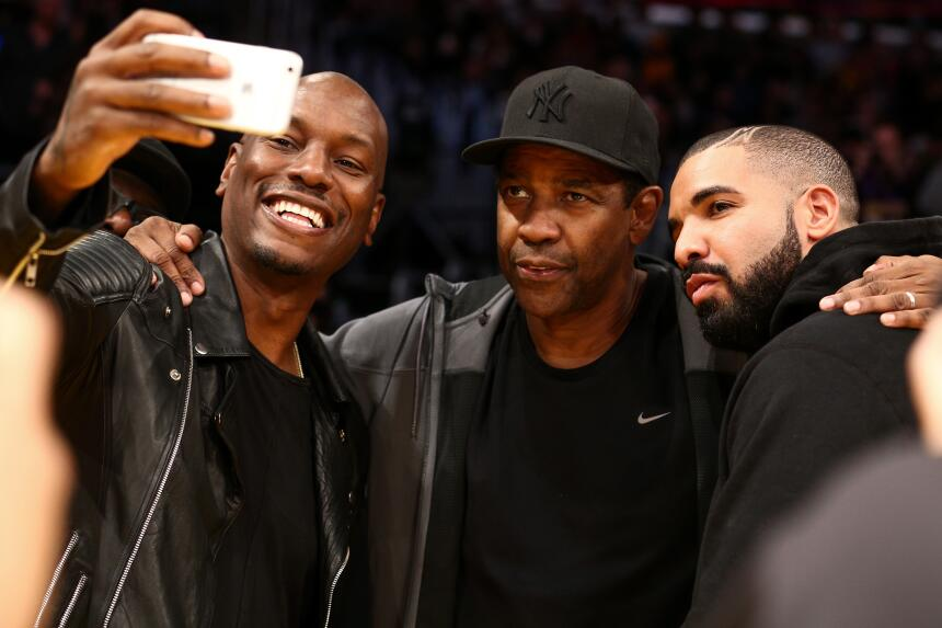 Don Johnson, Tyrese Gibson, Denzel Washington, Drake, Mark Wahlberg, Rhe...