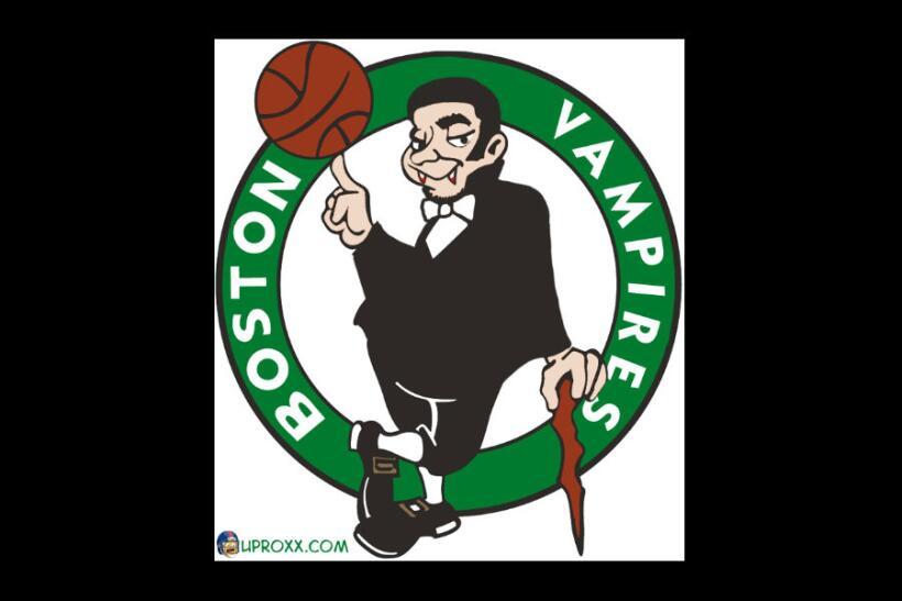 Los logos de la NBA al estilo Halloween