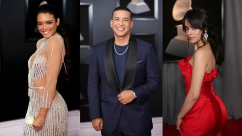 Así desfilaron los famosos por la alfombra roja de los GRAMMY 2018.