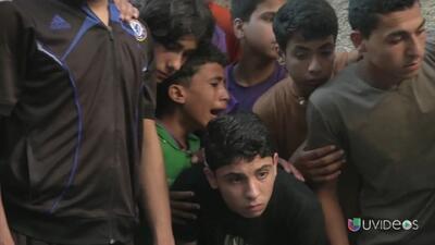 Misil mata a 4 niños y hiere a una decena mientras jugaban fútbol