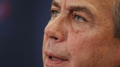 John Boehner sobre el anuncio de la acción ejecutiva