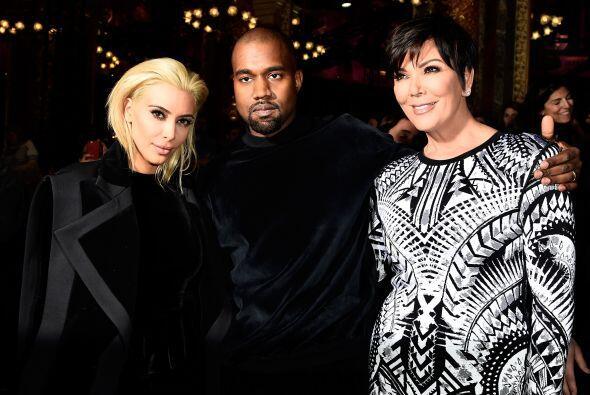 En realidad la Kardashian no está sufriendo por su cabellera rubi...