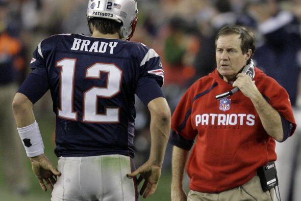 Bill Belichik y Brady querían revancha ante Manning y Tom Coughlin; el 5...