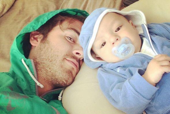 Así es, Mauro es el hijo de Pablo Lyle, el protagonista de la telenovela.