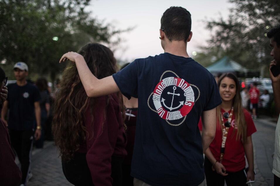 Camisetas en la vigilia de Parkland