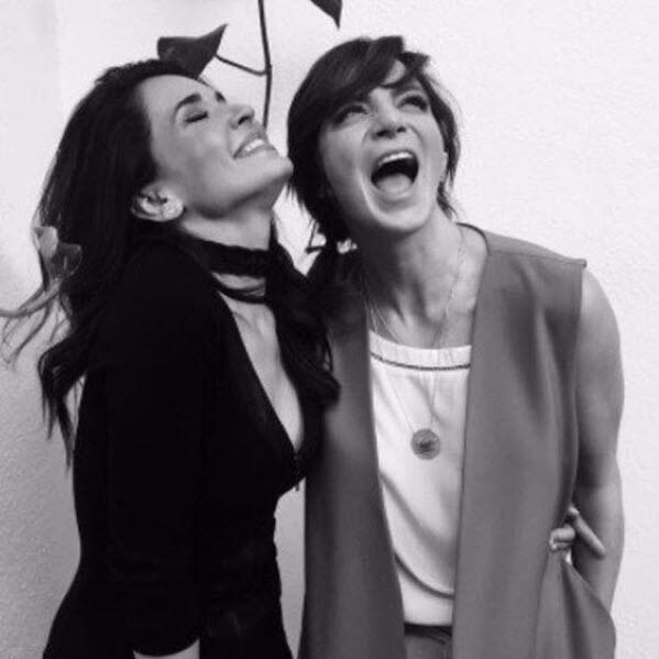 Adriana Louvier y Silvia Navarro