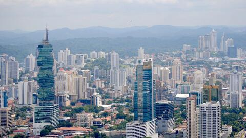 Panama is a modern city of skyscrapers