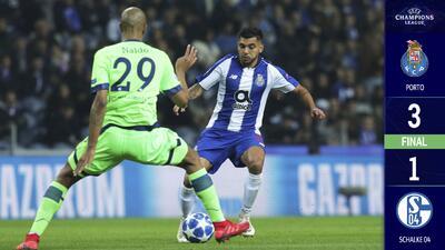 ¡Tres de tres! Gol de Tecatito tiene al Porto en la cima de la Champions