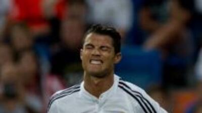 Cristiano Ronaldo está lesionado para Portugal.