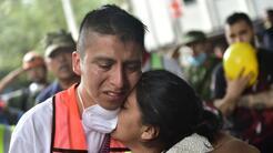 María Ortiz, la madre de Leobardo Lopez (en la imagen), sobrevivió al te...