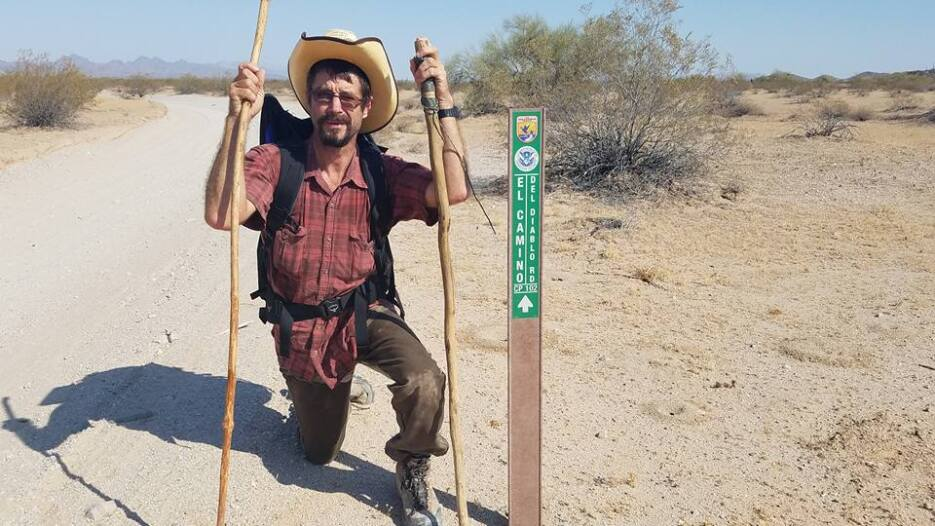 La conclusión de este caminante es que muchos residentes de la frontera...