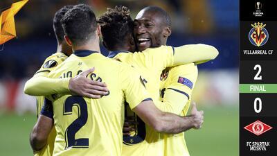 El Villarreal de Layún avanzó como líder en la Europa League