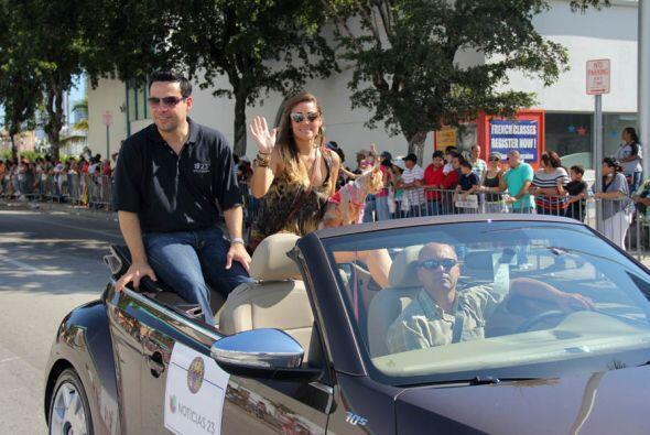 Gloria Ordaz y Jorge Hernandez de Noticias 23