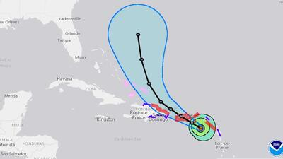 Maria is the 13th named storm of an already busy 2017 Atlantic hurricane...