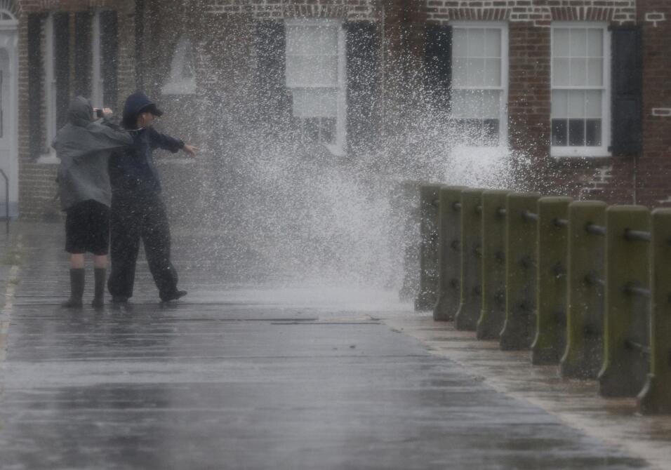 Vuelven las lluvias a Carolina del Sur pero descartan inundaciones SOP%2...