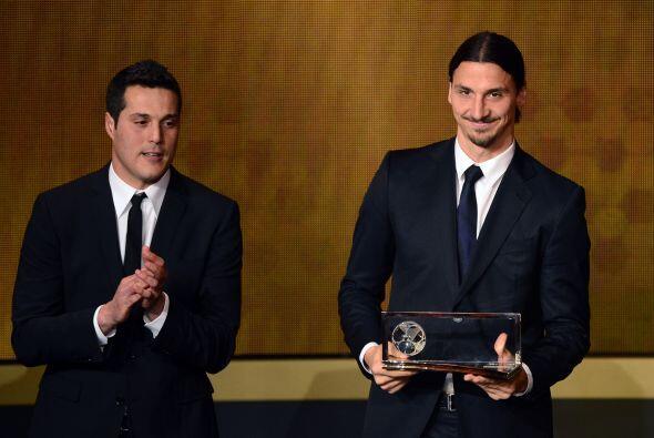 Uno de los premios más esperados, el de mejor gol del 2013, fue para el...