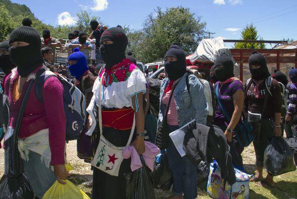 """El portavoz del EZLN, """"Subcomandante Marcos"""", que lleva años sin aparece..."""
