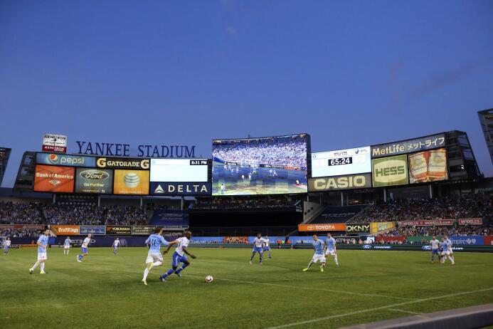 New York City FC recibió en el Yankee Stadium a Montreal Impact la noche...