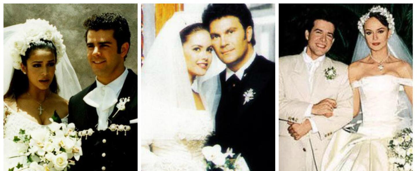 Las bodas de actores de novela que enamoraron a todos