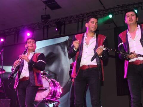 El Recodo, Recoditos, Noel Torres, Kevin Ortiz y Luis Coronel se present...