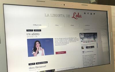 'La libreta de Lola', un blog que trasforma vidas
