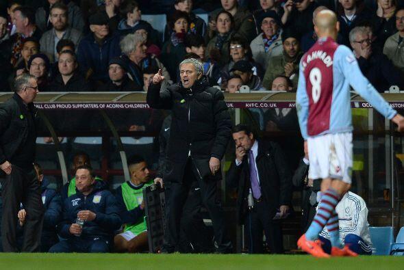 El buen rato que pasaba Mourinho con Lamberg se acabó cuando Fabian Delp...
