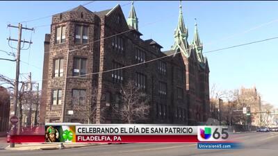Celebrando Estudiantes Latinos en Dia de San Patricio