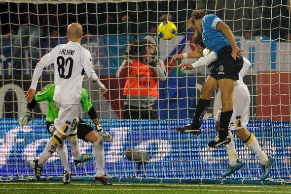 Los locales ganaron 3-1, primero el Parma se podría al frente pero despu...