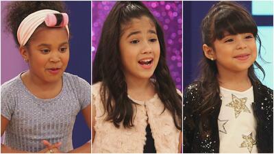 Tres niñas mostraron su talento extraordinario, pero sólo dos fueron sel...
